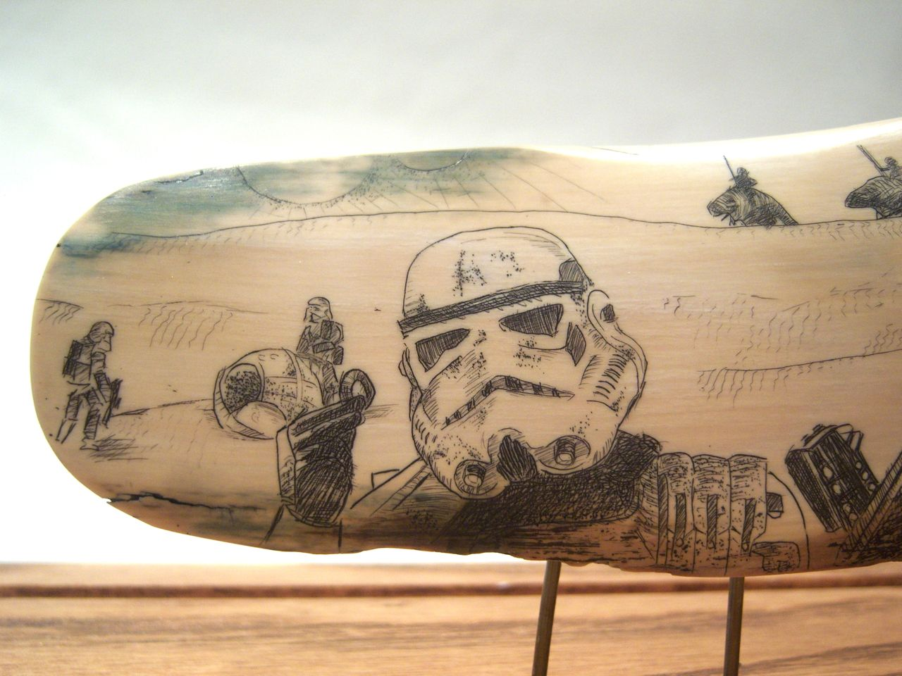 Star Wars Scrimshaw