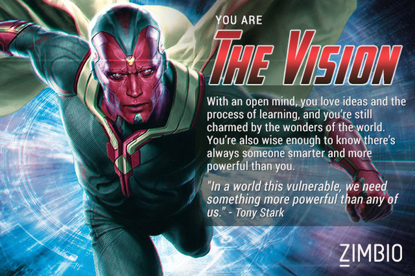 I Am The Vision (apparently)